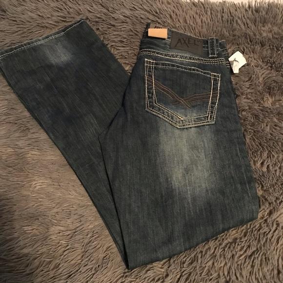 fdcfe60be1c Men's AXEL WOLCOTT Vintage Bootcut Jeans NWT! M_5c5e13b70cb5aa3d61133eff